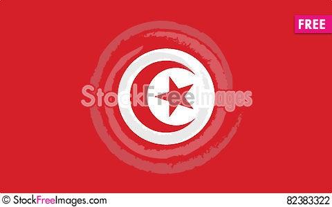 Free Flag Of Tunisia Vector Icon Illustration Stock Photography - 82383322