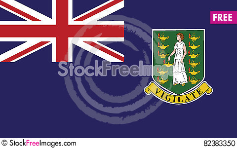 Free Flag Of Virgin Island Uk Vector Icon Illustration Stock Photo - 82383350