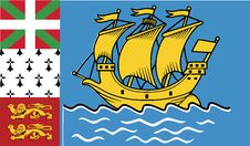 Free Flag Of Saint Pierre And Miquelon Vector Icon Illustration Royalty Free Stock Image - 82382926