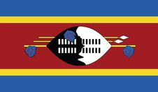 Free Flag Of Swaziland Vector Icon Illustration Royalty Free Stock Images - 82382959