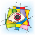 Free Eye Red Royalty Free Stock Photography - 8245657