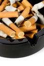 Free Ashtray Full Of Cigarettes Royalty Free Stock Image - 8246356