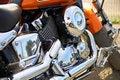 Free Bike Engine Royalty Free Stock Photography - 8247307