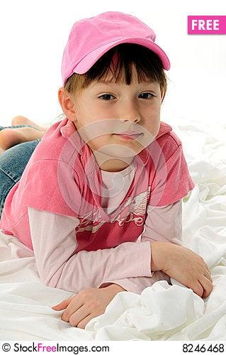 Free Little Fashion Girl Royalty Free Stock Photos - 8246468