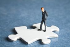 Free Putting The Pieces Together Stock Photo - 8240130