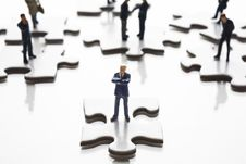 Free Putting The Pieces Together Royalty Free Stock Photo - 8240155