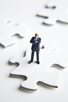 Free Putting The Pieces Together Royalty Free Stock Photo - 8240255