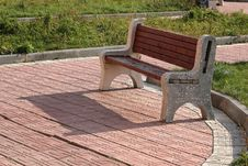 Free Garden Bench Royalty Free Stock Image - 8240446