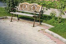 Free Beautiful Bench Royalty Free Stock Photos - 8240518