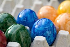 Free Easter Eggs Close Up Royalty Free Stock Photo - 8240655