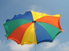 Free Beach Umbrella Stock Photo - 8240750