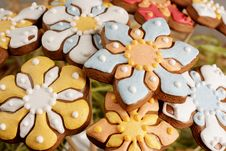 Free Easter Gingerbread Decoration Royalty Free Stock Photos - 8242098