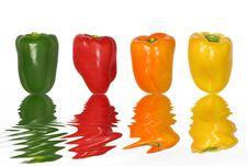 Free Pepper Freshness Royalty Free Stock Image - 8242166