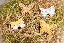 Free Easter Gingerbread Decoration Stock Images - 8242204