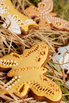 Free Easter Gingerbread Decoration Stock Photos - 8242263