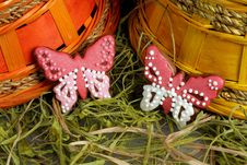Free Easter Gingerbread Decoration Stock Photography - 8242502