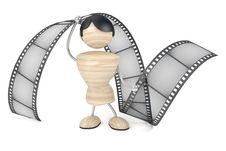 Free Film Industry, Conception Stock Images - 8242704