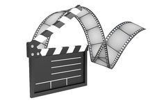 Free Film Industry, Conception Royalty Free Stock Photography - 8242717