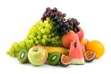 Free Fresh Fruits Royalty Free Stock Photography - 8243217