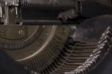 Free German Typewriter Year 1920 Royalty Free Stock Photography - 8243257