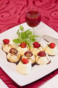 Dessert Glass Royalty Free Stock Image
