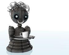 Free Robot Royalty Free Stock Image - 8243976