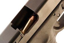 Free Chambered Bullet Royalty Free Stock Photos - 8244368