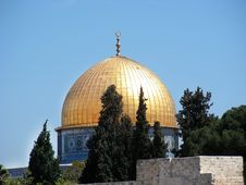 Free Dome Of The Rock Stock Photos - 8244393