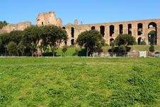 Free Circo Massimo And Ruins In Rome Stock Photo - 8244580