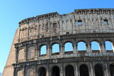 Free Colosseum  In  Rome Italy Royalty Free Stock Photography - 8244677