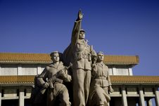 Free Mao S Mausoleum Royalty Free Stock Photos - 8244778