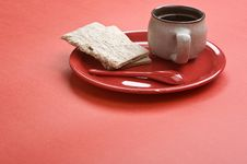 Free Breakfast. Stock Images - 8246004