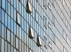 Free Glass Fronted Office Block Stock Photography - 8246162