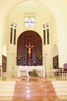Puerto Plata Small Town Church 2 Royalty Free Stock Photography
