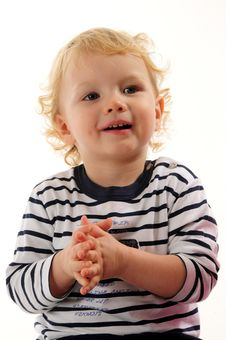 Gorgeous Little Boy Stock Images