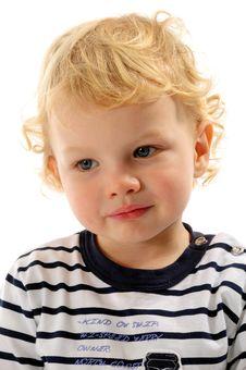 Gorgeous Little Boy Stock Photo