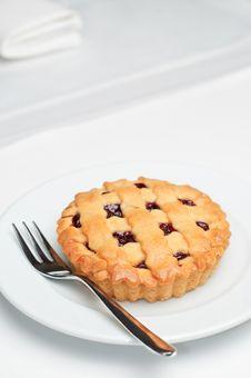 Free Small Cherry Pie Stock Photos - 8246993