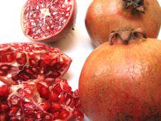 Free Pomegranates Royalty Free Stock Photo - 8247275