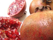 Free Pomegranates Royalty Free Stock Image - 8247276