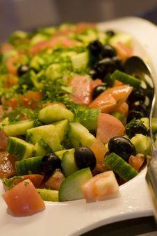 Free Cucumber Salad Royalty Free Stock Photos - 8247508