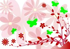 Free Floral Background Stock Photos - 8247923