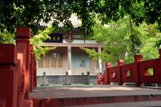Free Pixian, China: Wang Cong Ci Temple Royalty Free Stock Photo - 8248045