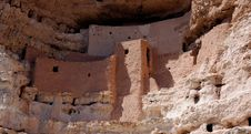 Montezuma S Castle Royalty Free Stock Photos