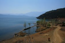 Lugu Lake Royalty Free Stock Photography
