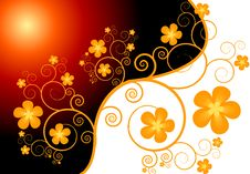 Free Floral Background Royalty Free Stock Image - 8248506