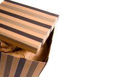 Free Opened Gift Box Stock Image - 8248711