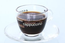 Espresso Cup Of Coffee Royalty Free Stock Images