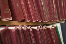Free Books In Library. Stock Photography - 8249462