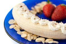Free Strrawberry Banana Dessert Stock Photos - 8249553