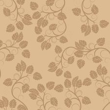 Free Floral Vintage Background Royalty Free Stock Photography - 8249817